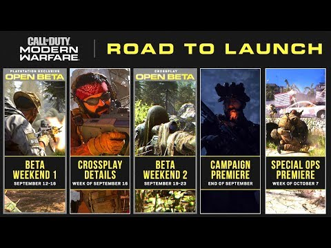 Modern Warfare: Campaign & Spec Ops REVEAL (NEW Road Map!)