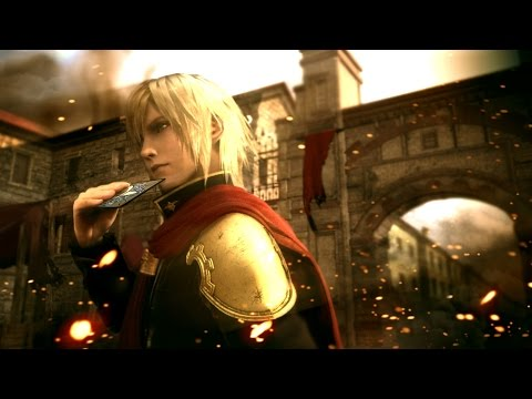 Final Fantasy Type 0 HD Trailer TGS 2014 PS4 Xbox One