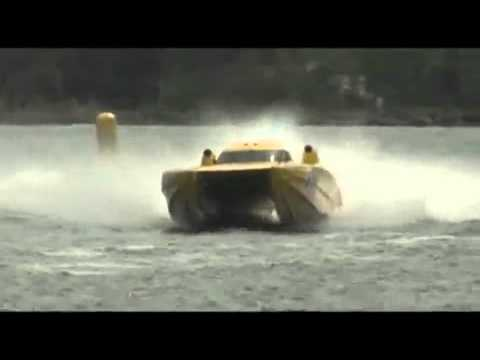 BMW Norwegian Grand Prix 2009   Race Day class 1 offshore powerboat racing