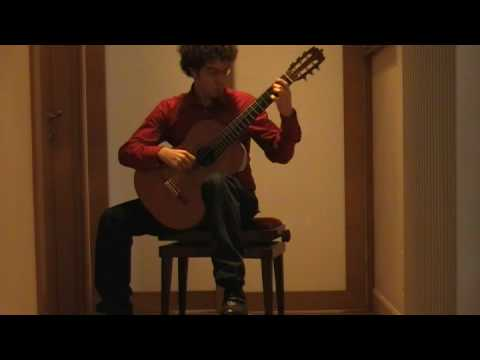 Colibrì (Sagreras) - chitarra: Andrea De Vitis