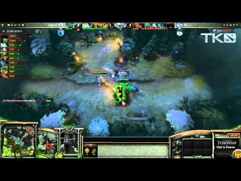 Team Liquid vs Evil Geniuses Game 2   MLG TKO Dota 2   TobiWan Clairvoyance & Demon