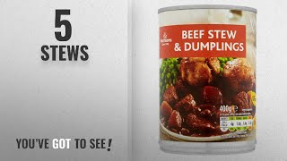 Top 10 Stews [2018]: Morrisons Beef Stew and Dumplings, 400g