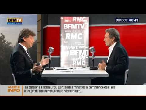 Bourdin Direct : Arnaud Montebourg – 07/10