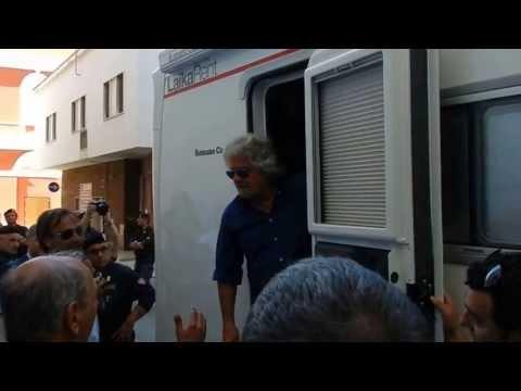 Beppe Grillo a Corato