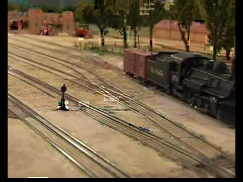 N scale Santa Fe New Mexico Video