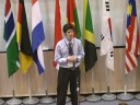 2008 SYS Memorial Hall Mandarin Speech Contest--Matthew Robertson