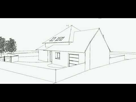 plan 3d maison en bretagne youtube. Black Bedroom Furniture Sets. Home Design Ideas