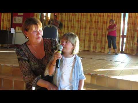 Gloria 6 Ans Chante La Vie En Rose Capella T