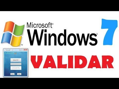 validar windows 7 totalmente