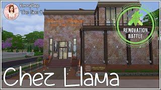 ▶Havana's Renovation 🔨 Battle of the Chez Llama-The Sims 4