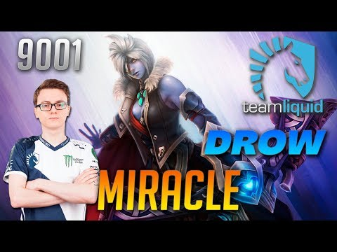 Miracle Drow Ranger Traxex   9001 MMR Dota 2