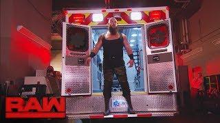 Braun Strowman returns to attack and challenge Roman Reigns: Raw, June 19, 2017