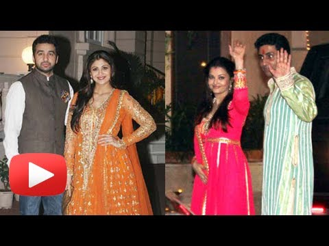 Aishwarya Rai, Shilpa Shetty's Diwali Fashion - Bollywood Wishes Happy Diwali ! video