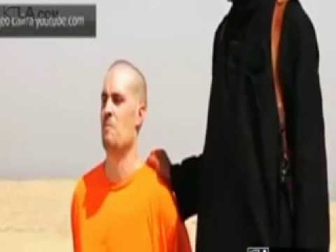 James Foley-Video Show Terrorist Group ISIS Beheading U.S. Journalist