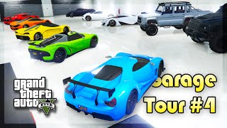 GTA 5 Online - INSANE 50 CARS GARAGE TOUR! (Garage Tour #4)