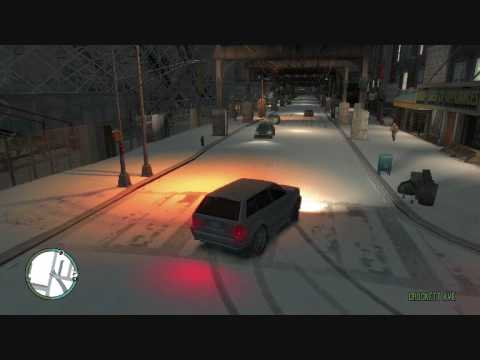 GTA IV snow mod [HQ]