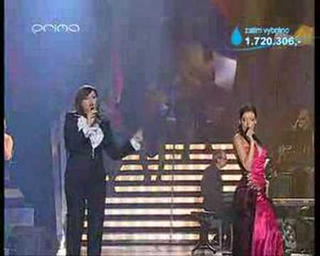 Ilona Csakova a Dasha - Lady Marmalade live Video