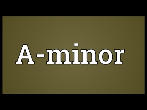 Header of A-Minor