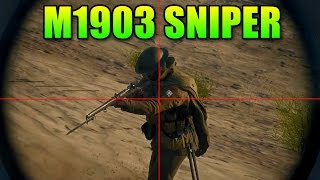Sniper Sunday M1903 - The Long Range Rifle | Battlefield 1 Scout Guide
