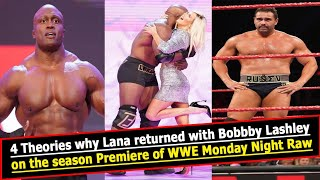 4 Theories why Lana returned with Bobby Lashley on the Season Premiere of WWE RAW
