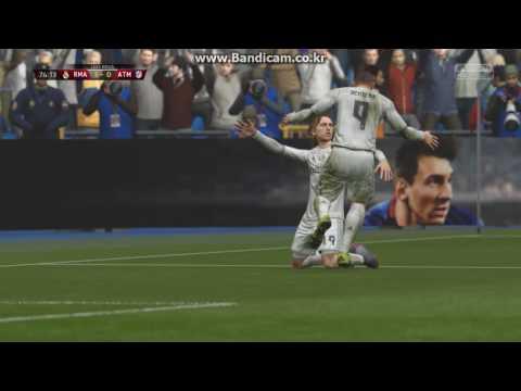 FIFA16 마드리드더비 후반전(The Madrid Derby) Real Madrid VS Atletico Madrid in Bernabeu  2nd Half