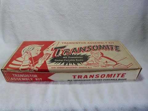 1960? Transomite transistor radio kit (New Yorker Industries, USA)
