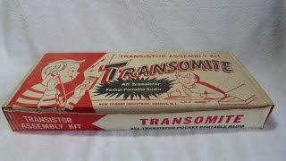 1960? Transomite transistor radio kit (New Yorker Industries, USA)