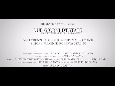 Due giorni d'estate – trailer