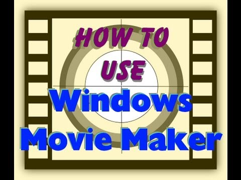 Tutorial: How to use Windows Movie Maker (WMM)  to edit your own Videos and make your own movies.