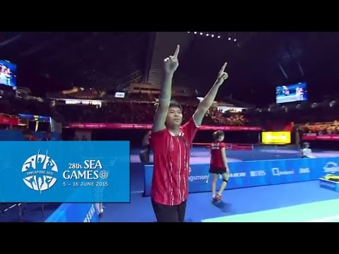 Badminton Mixed Doubles Gold Medal Match   28th SEA Games Singapore 2015