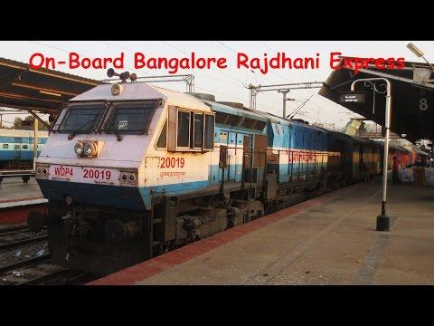 First AC Ride On-Board 22692 Bangalore Rajdhani Express!!!!!!!
