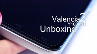Unboxing review Doogee valencia2 Y100 pro!