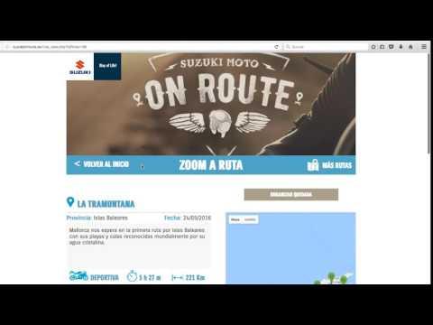 /drygital crea On Route, app de Suzuki para los moteros