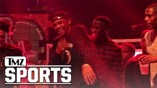 Lil Wayne Gives Russell Westbrook An Assist To Turn Up On Stage | TMZ Sports
