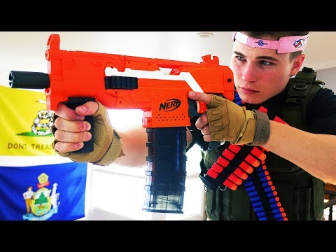 Nerf War: Brother Vs Brother 2