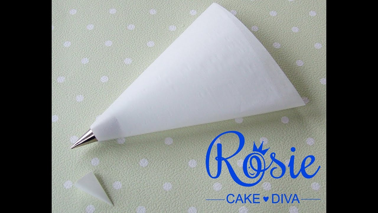Make Your Own Cake Piping Bag