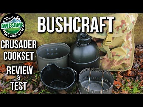Bushcraft Cookset - Crusader MK2 Review & Test   TA Outdoors