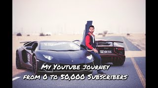MY YOUTUBE JOURNEY: From 0 to 50,000 Subscribers.