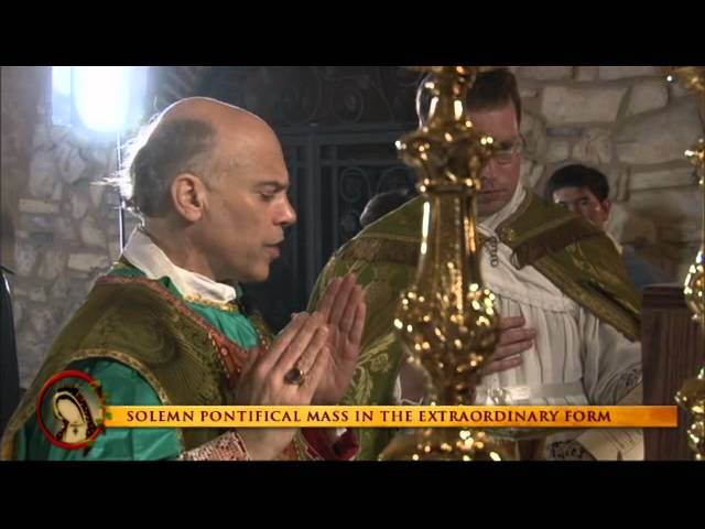 Solemn Pontifical High Mass of the Extraordinary Form with Archbishop Salvatore Cordileone