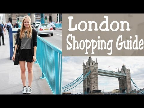 Wasziehstnan - London Shopping Guide by dfashion