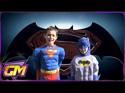 Superman Vs Batman: Kids Parody of John Newman's Love Me Again