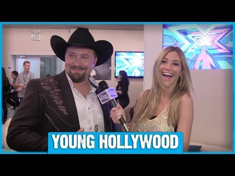 X FACTOR Finalist Tate Stevens on Being a Country Diva!