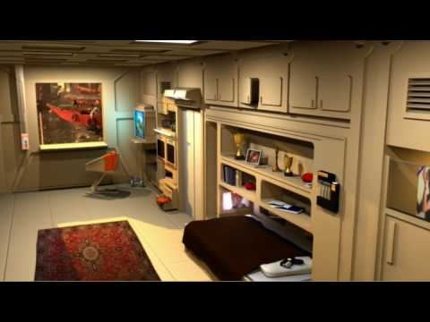 Fifth Element 3d Rendered Scene For Scad 2009 Youtube