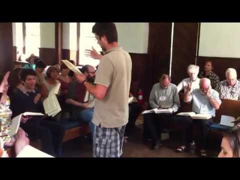 522 Ye Heedless Ones - Exeter All-Day Sacred Harp Singing 2014