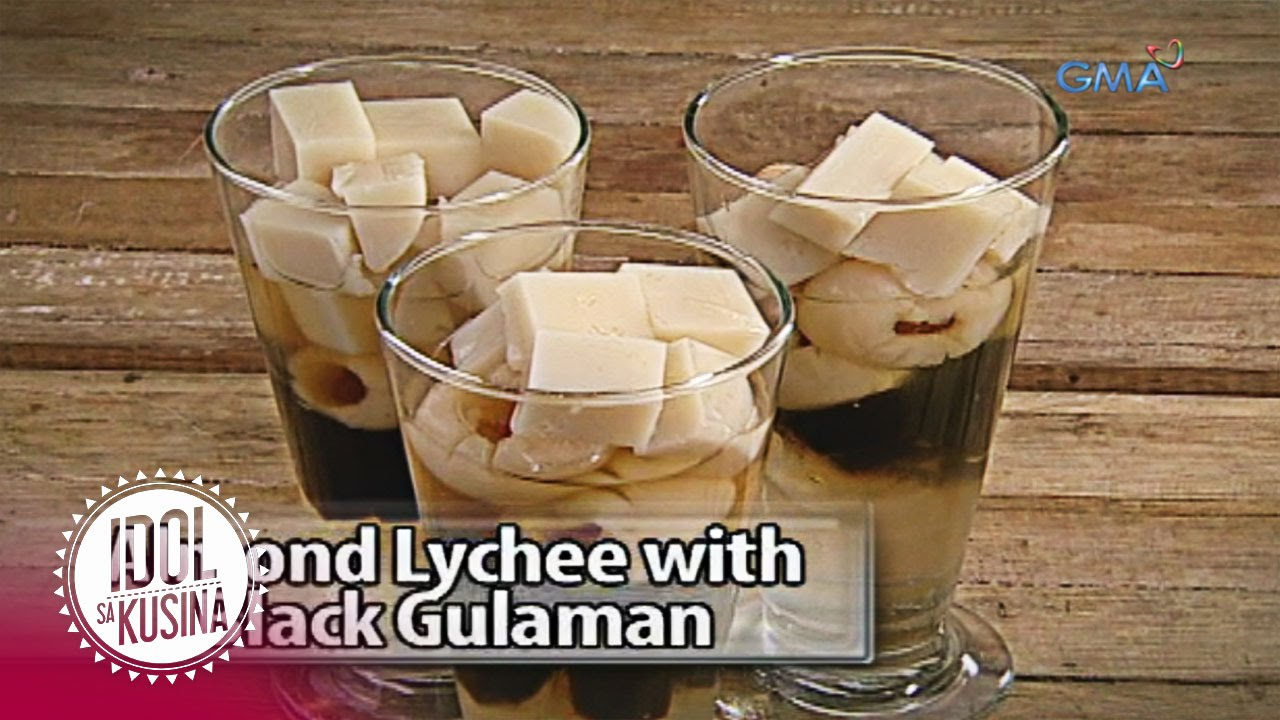 Idol sa Kusina recipe: Almond Lychee with Black Gulaman
