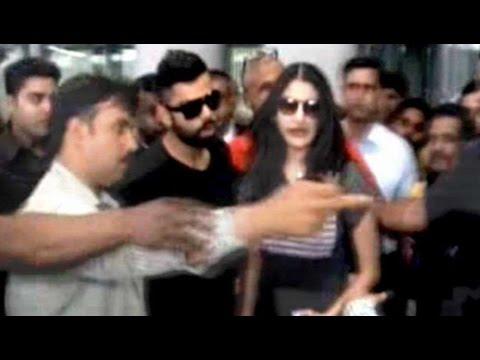 Kohli, Anushka arrive in Kolkata for IPL opening ceremony