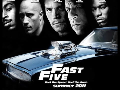 Fast Five is listed (or ranked) 10 on the list The Best Car Movies