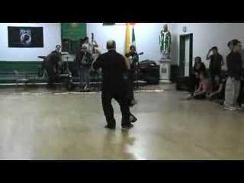 Swing dance demo - Linda Leverock & Evan MacDonald Video