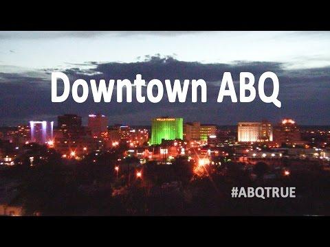 ABQ TRUE | Downtown Albuquerque Route 66 City Lights Timelapse