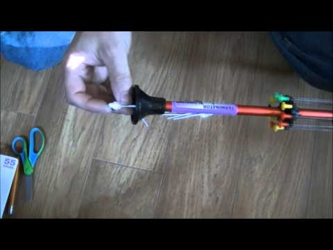 How To Make Your Own Blow Gun and Darts